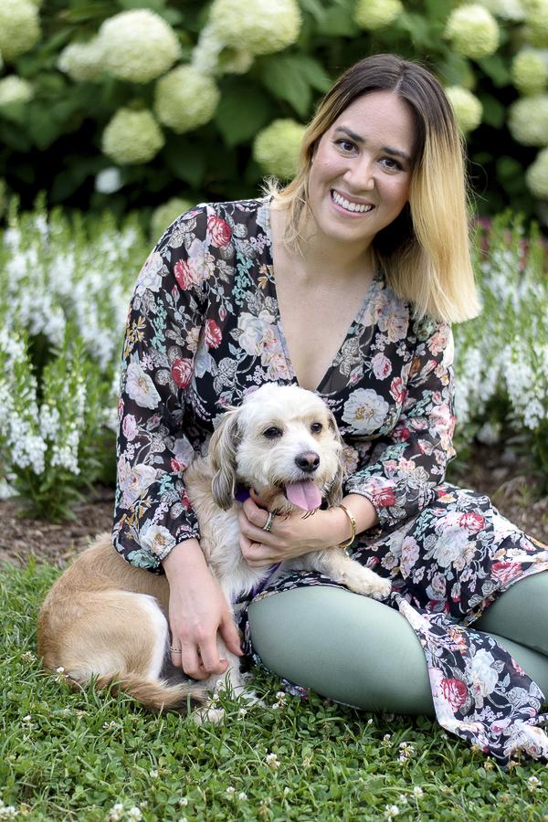 Cocker spaniel terrier mix, lifestyle dog photography, Kage Sanderson
