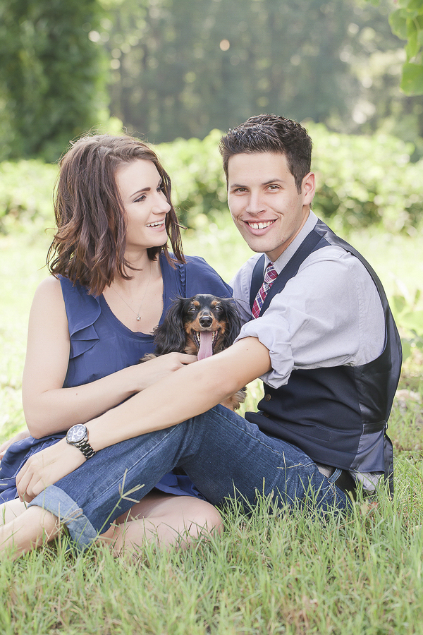 ©Casey Hendrickson Photography, engagement session with dog
