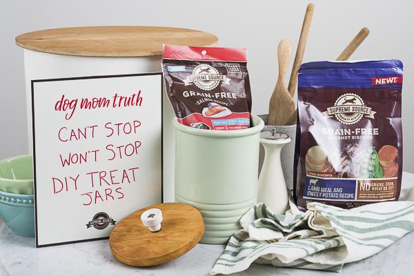 Ceramic Treat Jar With An Easy Diy Lid Daily Dog Tag