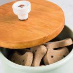 Ceramic Treat Jar With An Easy DIY Lid