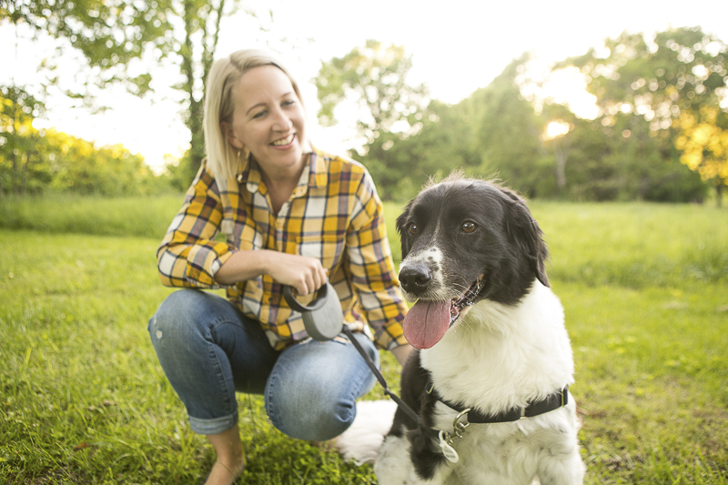 woman's best friend, lifestyle pet photography, Mixed breed ©Mandy Whitley Photography   Nashville pet photographer