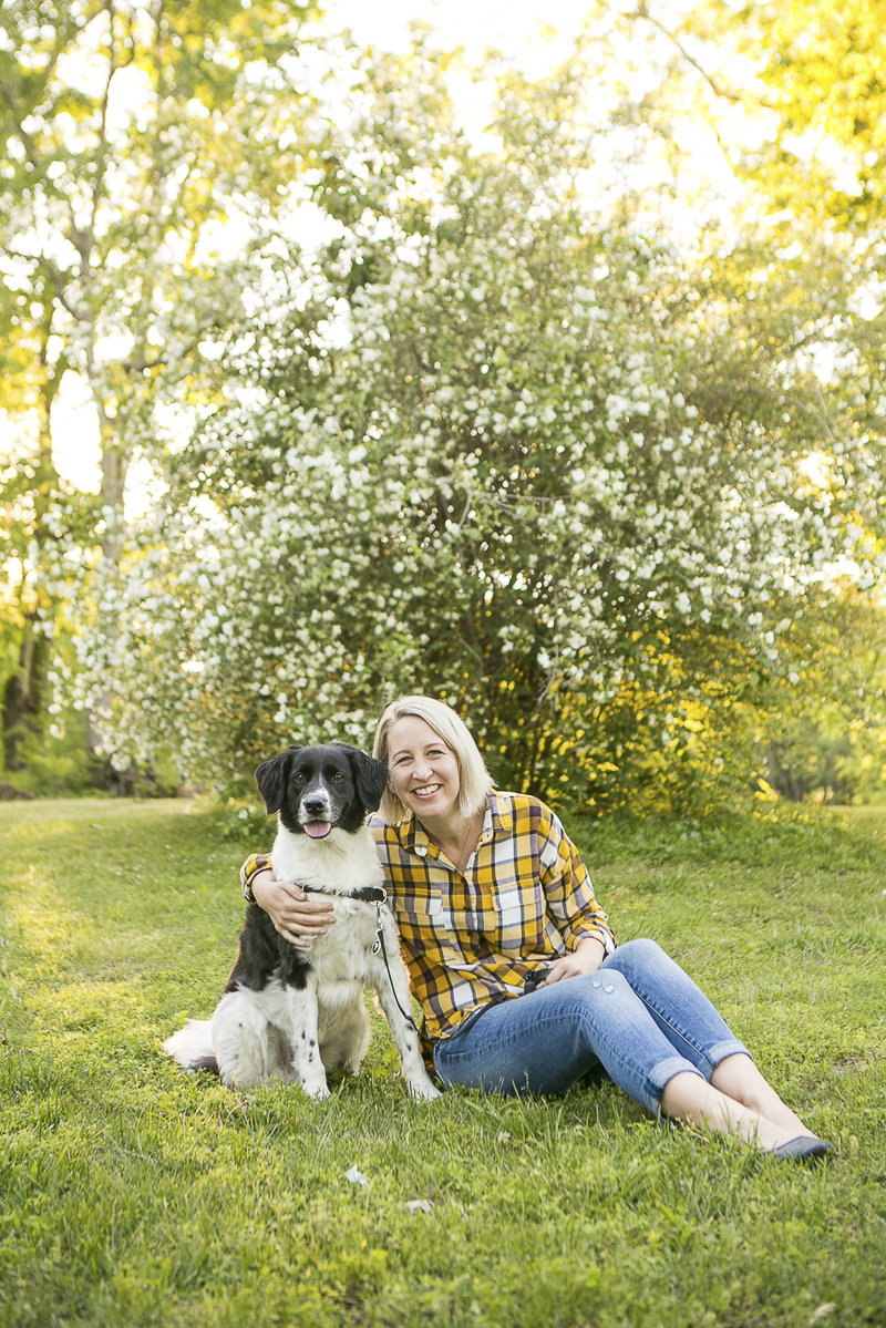 woman and her dog, lifestyle dog photography   ©Mandy Whitley Photography