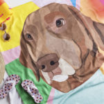 Win A Noble Friends Custom Pet Portrait Beach Towel