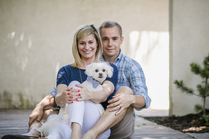 ©Images by Amber Robinson- Raleigh anniversary photography session with Maltese