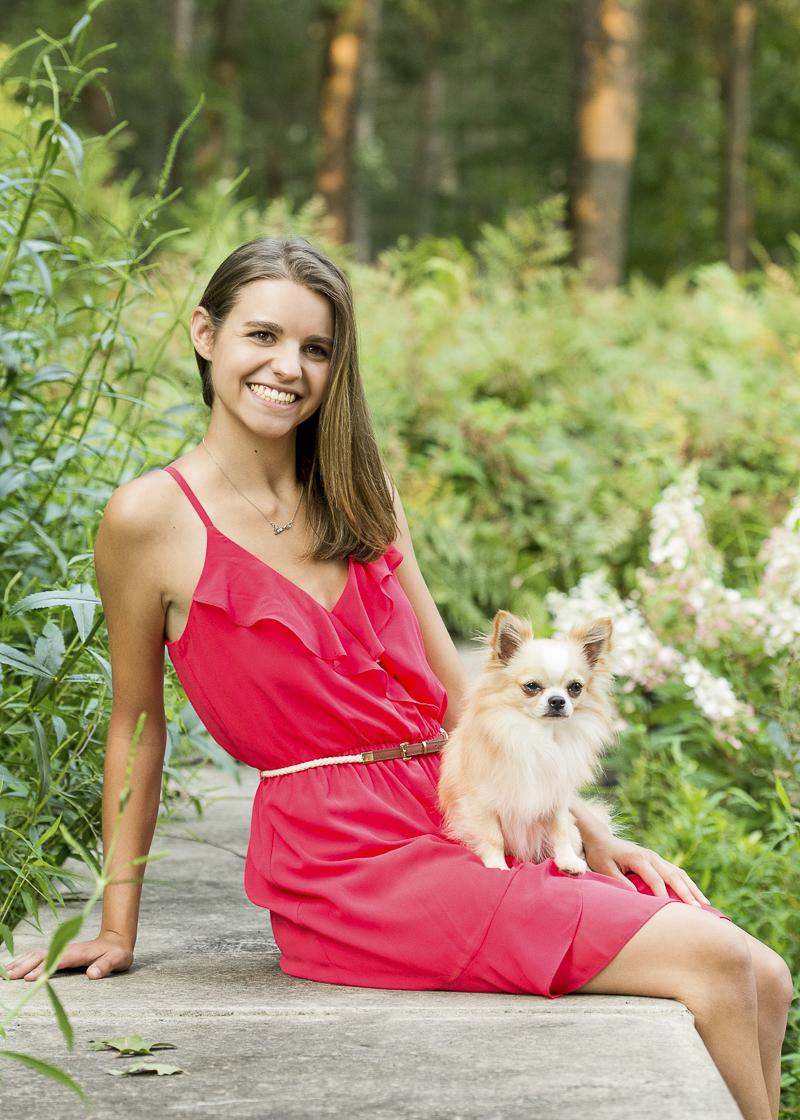 ©Trina Bauer Photography | Dog-Friendly senior portraits