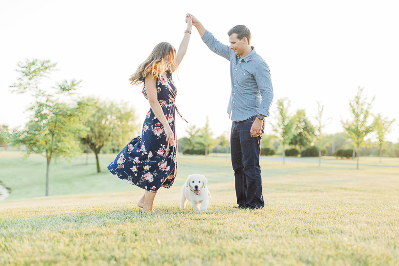 cute family photos with a pup, ©Victoria Hunt Photography   Indiana lifestyle photography