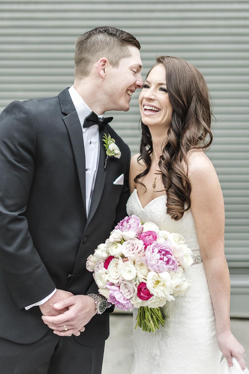 just married, bride and groom | ©epagaFoto | Kansas City, MO dog-friendly wedding