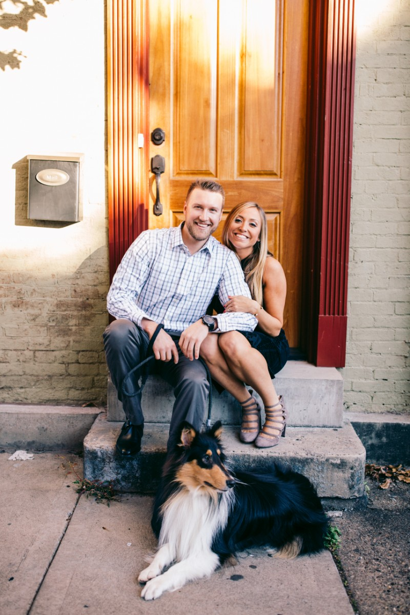 Rough Collie, ©Steven Dray Images   Pittsburgh dog friendly engagement session