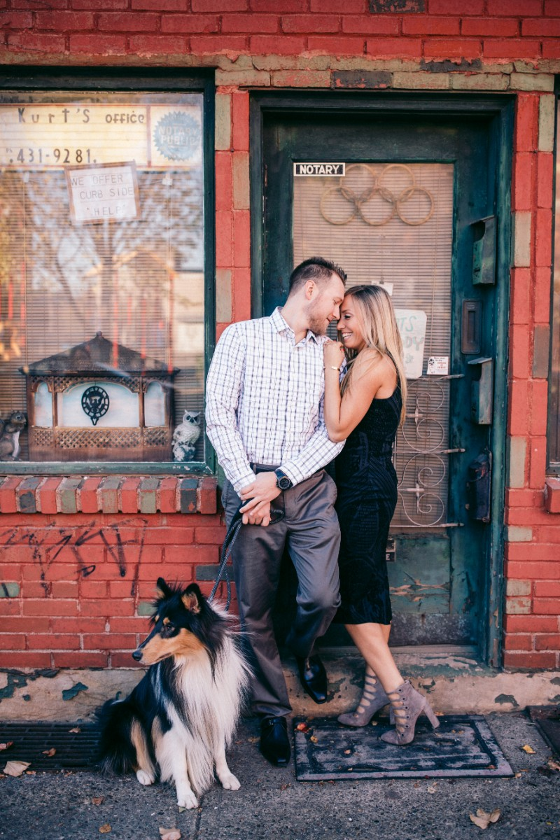 dog friendly urban engagement pictures | ©Steven Dray Images