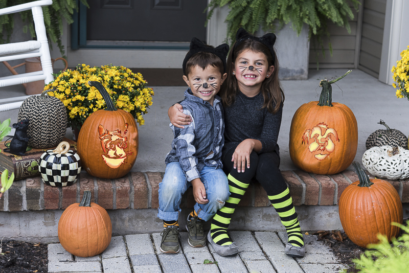 cute kids at Howl-O-Ween, pumpkins for pet lovers, © Alice G Patterson Photography, Syracuse lifestyle photography