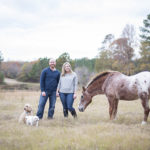 Happy Tails:  Teddy, Lacey, and Old Theo at the Farm