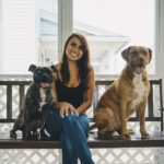 Happy Tails:  Ava and Hercules the Pit Bulls