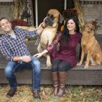 Happy Tails:  Sebastian the Mixed Breed & Hooch the English Mastiff