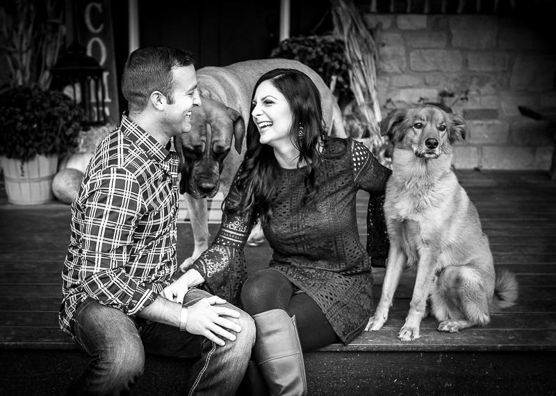 ©Irish Eyes Photography | fall family photos with dogs