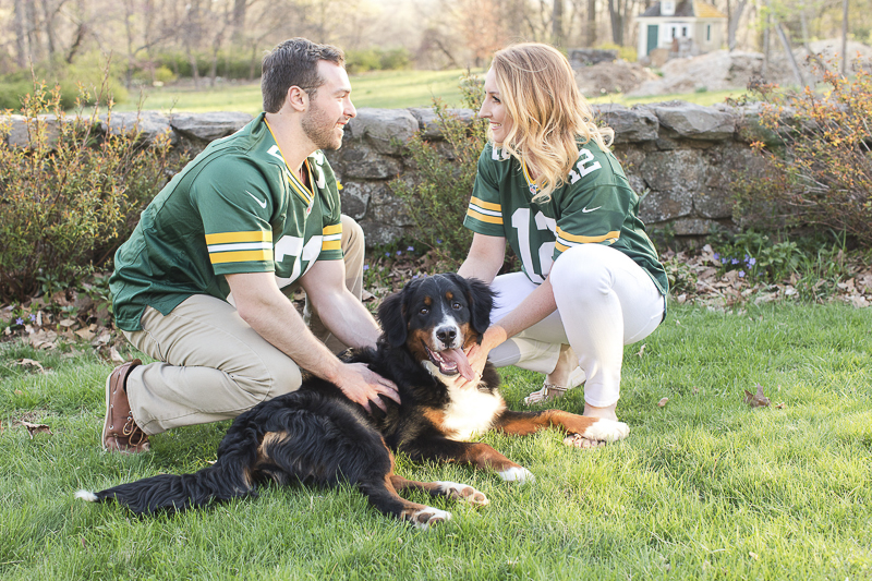 handsome BMD, ©Jaye Kogut Photography, dog-friendly engagement photos