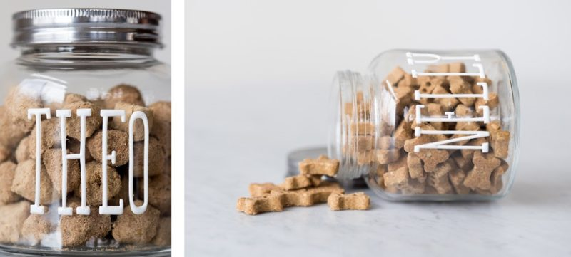 easiest treat jar, ©Alice G Patterson Photography | easy gift ideas for dog mom