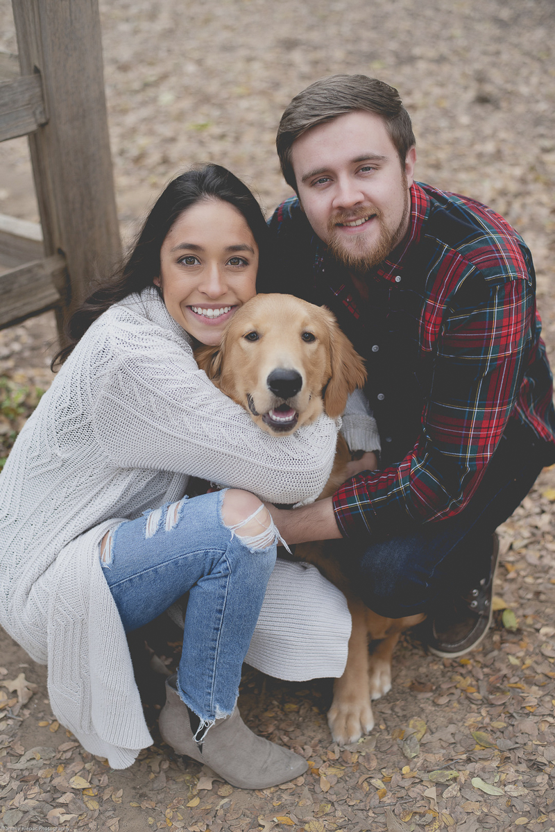 family photos with a dog | ©Tammy Klepac Photography