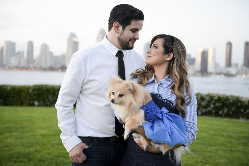 ©CR Photography | dog-friendly graduation photos