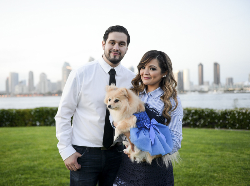 ©CR Photography | dog-friendly graduation pictures, Coronado