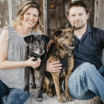 Happy Tails:  Darby the Patterdale Terrier & Bailey the GSD Mix