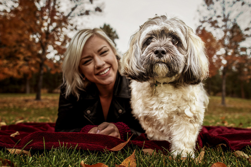 #agirlandherdog, lifestyle pets and people portraits | ©Noses and Toes Photography