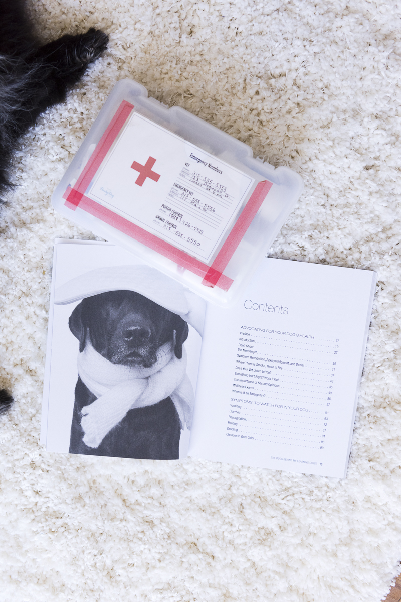 Must have dog health care book, ©Alice G Patterson Photography | Symptoms To Watch Out For In Your Dog-review and giveaway