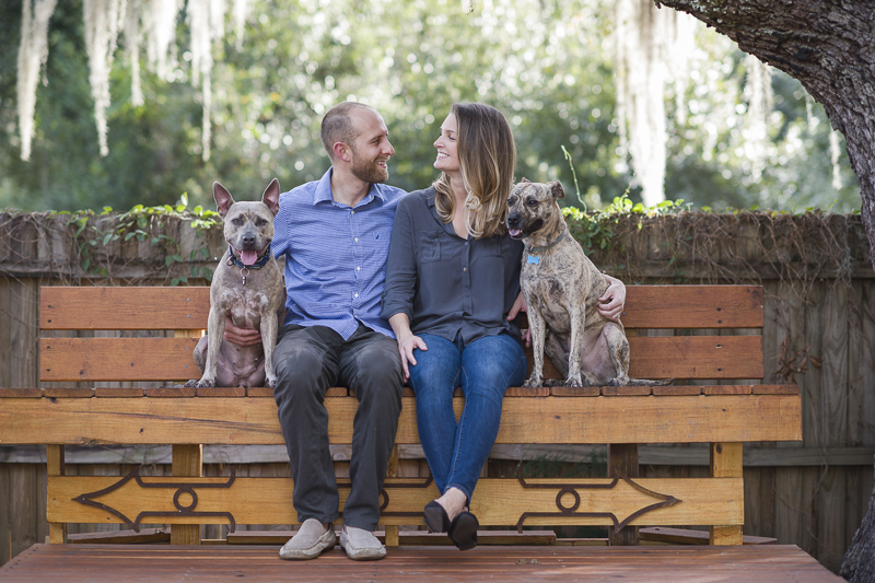 ©Green Pearl Photography | dog-friendly engagement photos