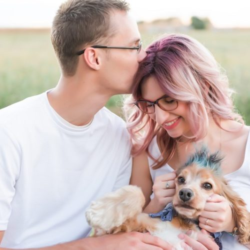 Engagement Photos with Dogs: Inspiration and Tips