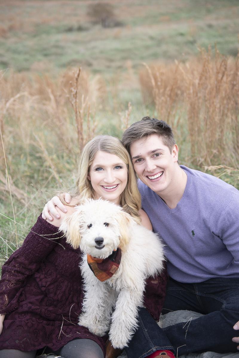©Persuasion Photography | Memphis, TN dog-friendly family portrait session, puppy love, #Goldendoodle