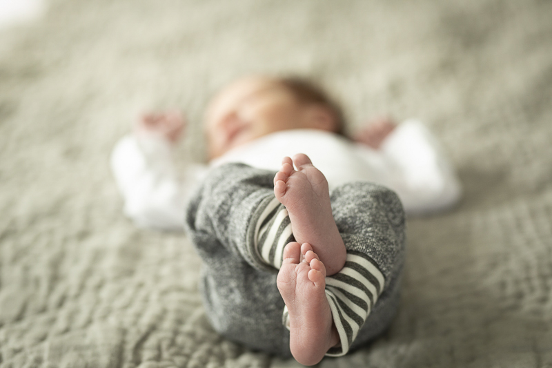 adorable baby feet, Chagrin Falls newborn photography, ©Imagine It Photography