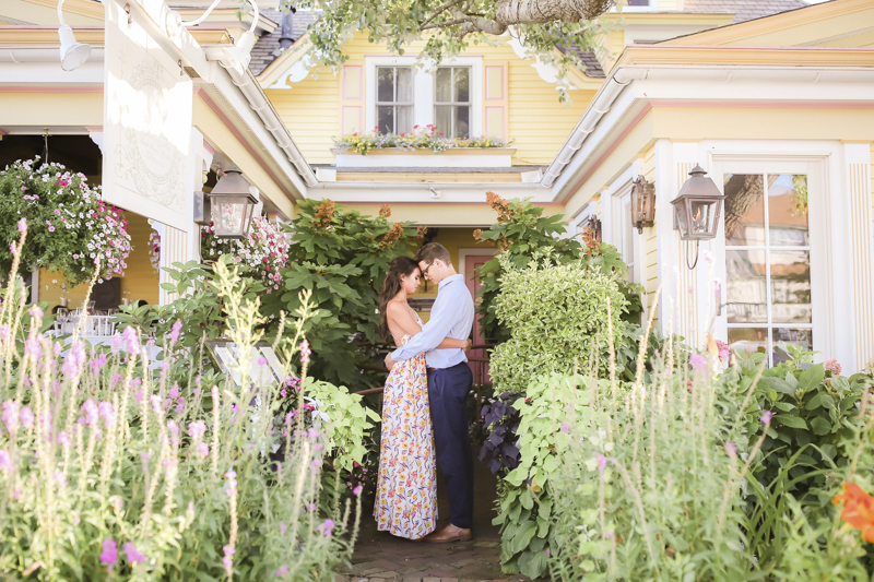©Idalia Photography | couple in front of the Gables, romantic engagement photography