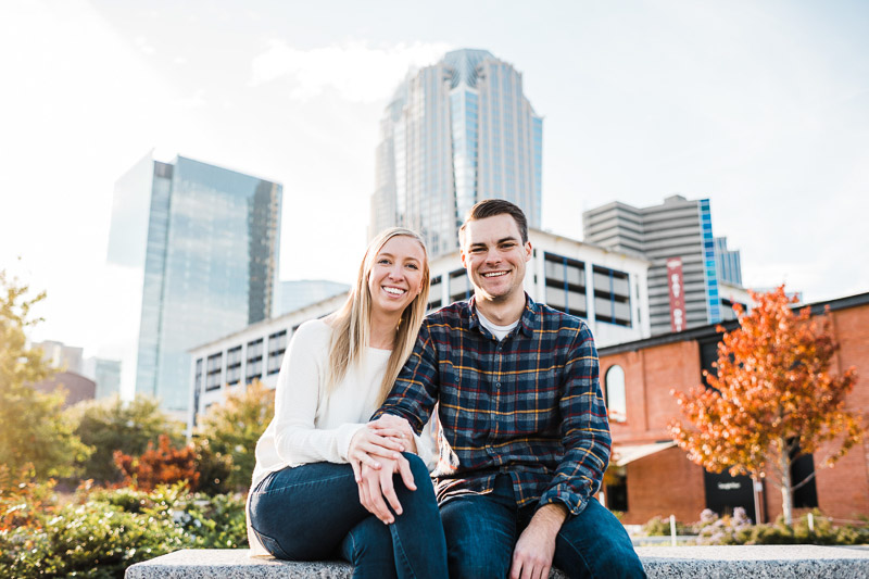 ©Easterday Creative, Charlotte, NC | pet-friendly engagement photos,