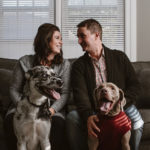 Happy Tails: In Home Lifestyle Session With Dogs