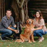 Engagement Photos with Adorable Dogs In Tampa, Florida