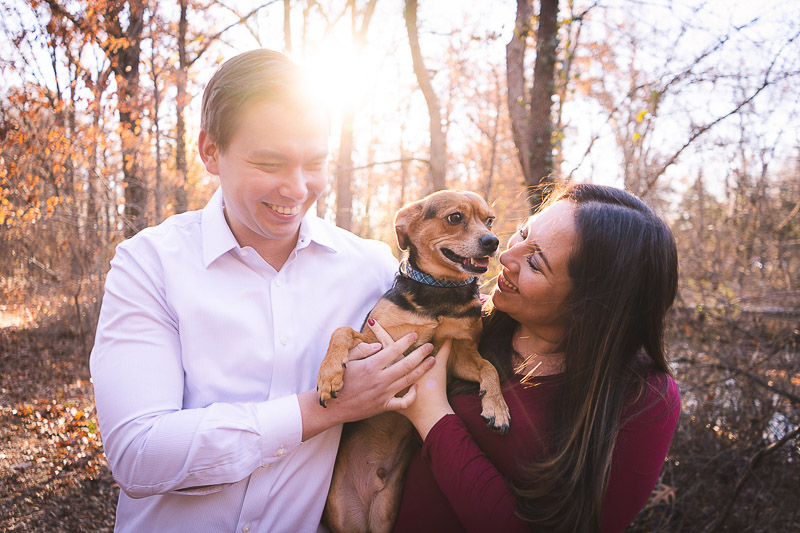 lifestyle family portraits with cute dog, ©Aim With Mia Photography, St. Louis, MO