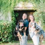 Happy Tails:  Koda Bear & Thea the Australian Shepherds