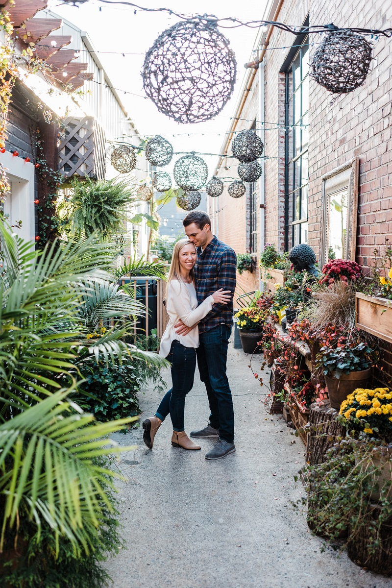 ©Easterday Creative, Charlotte, NC | pet-friendly engagement photos