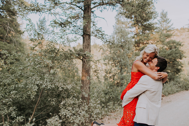 couple embracing, ©Abbey Armstrong Photography Pocatello, Idaho