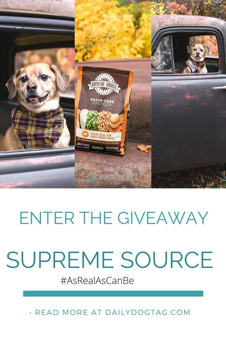 Supreme Source Pet Food Giveaway