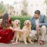 Dog-friendly Engagement Photos | Balboa Park