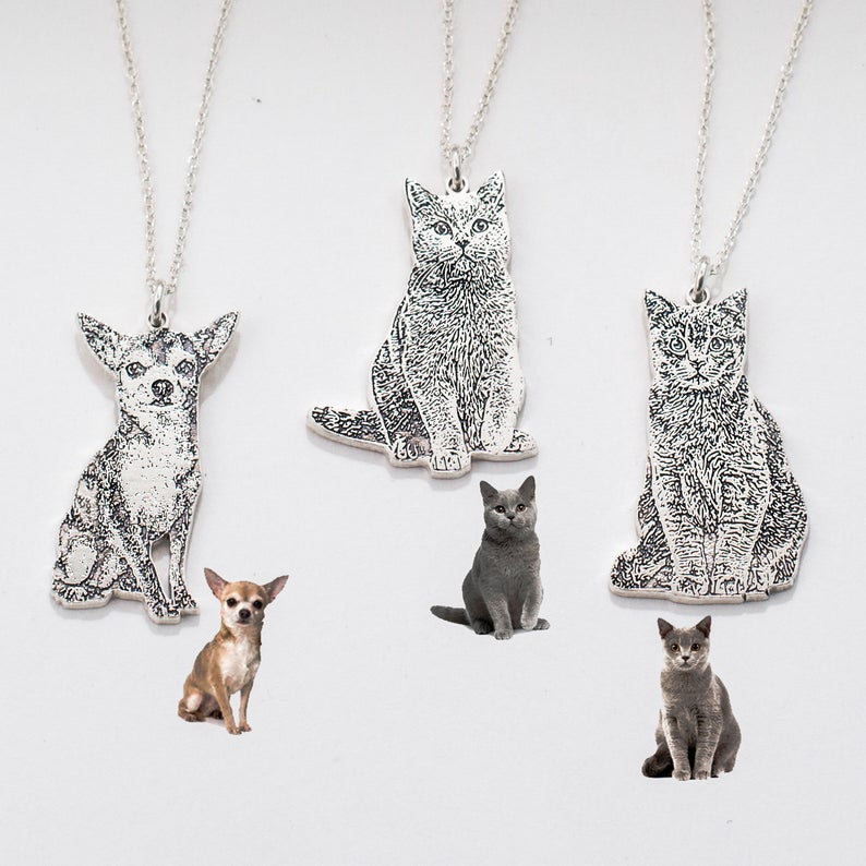 gifts for pet lovers, personalized jewelry