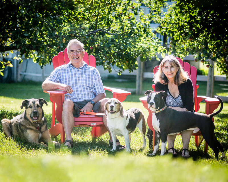 Family photos with dogs, ©Beth Photography | Ontario, Canada pet photographer