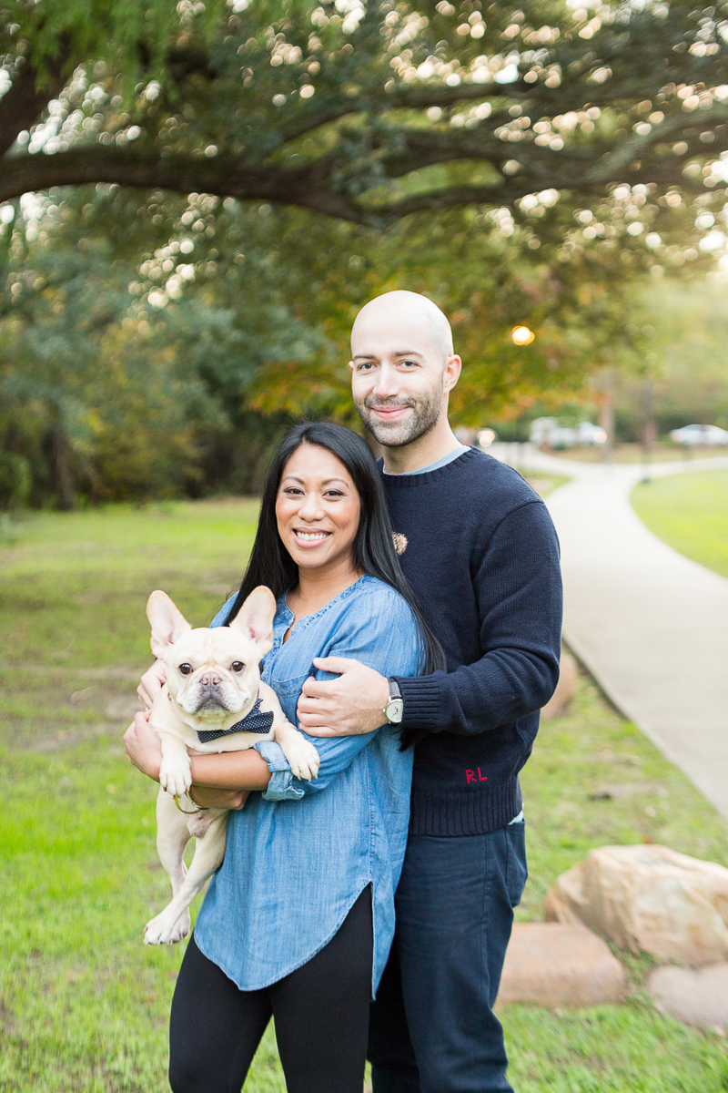 dog-friendly engagement photos, Five Points | ©Jessica Hunt Photography