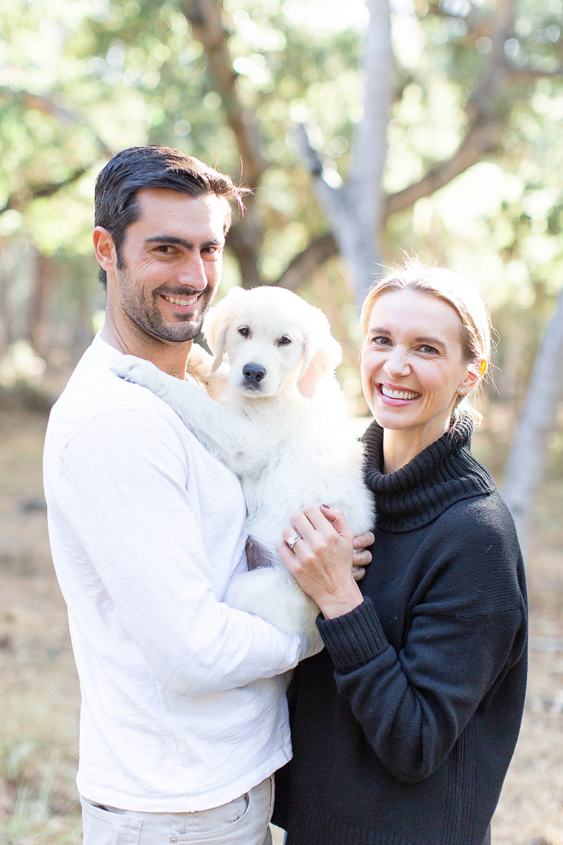 Pet-friendly family photos | ©Laura & Rachel Photography | Monterey, California