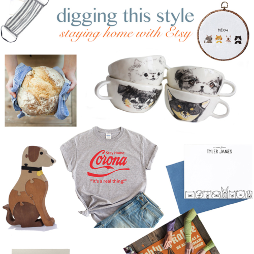 Digging This Style:  Staying Home With Etsy