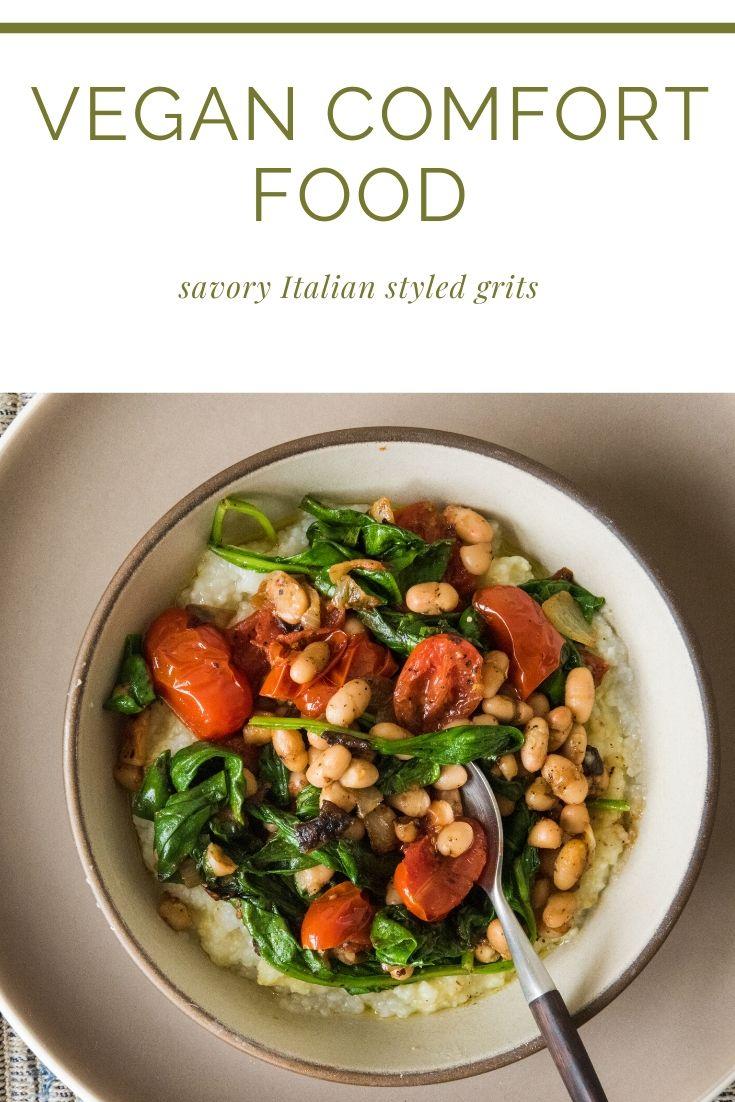 savory Italian styled grits