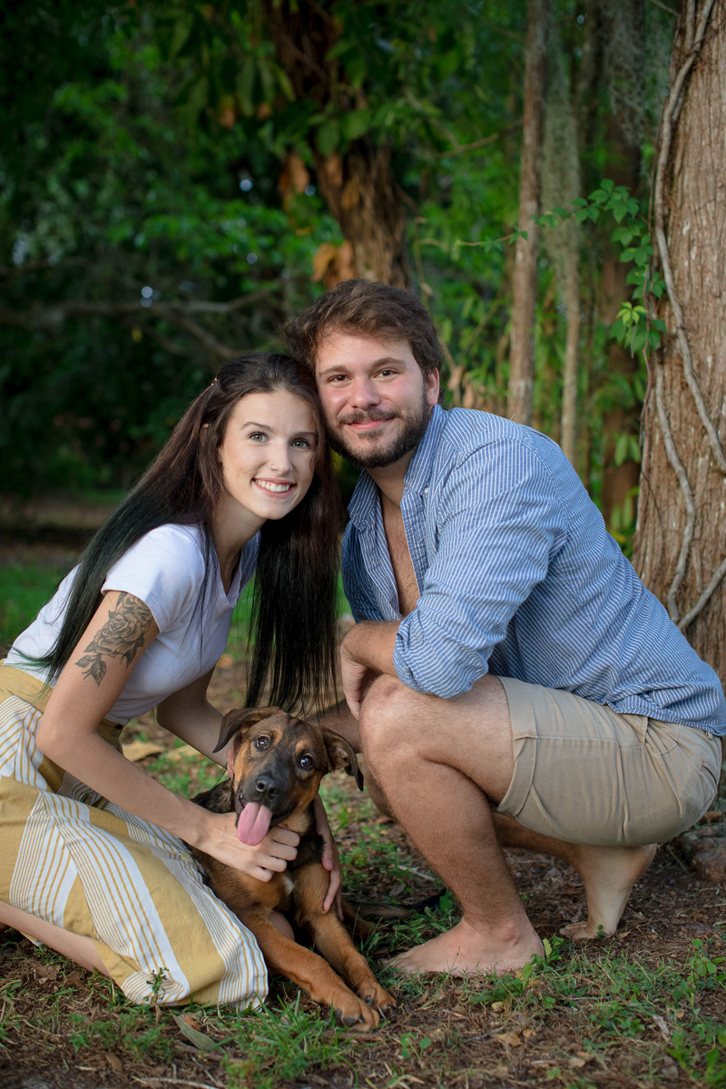 dog-friendly family photos, ©Impressions Photography | Southwest Florida