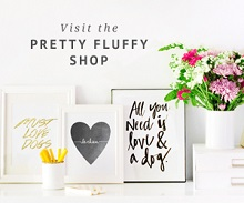 Gift Ideas:  Pretty Fluffy Print Shop and Treat Recipes