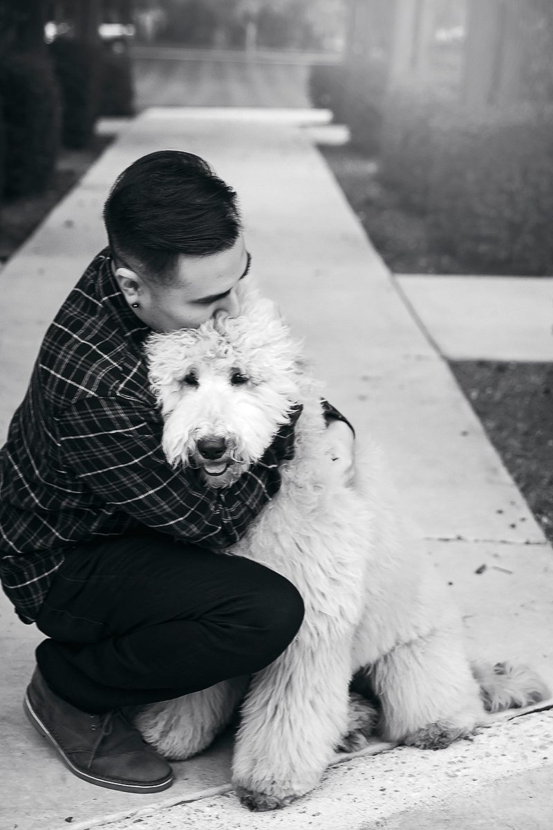 love between dogs and humans, ©Laura Gordillo Photography | people and their pets, Phoenix, AZ