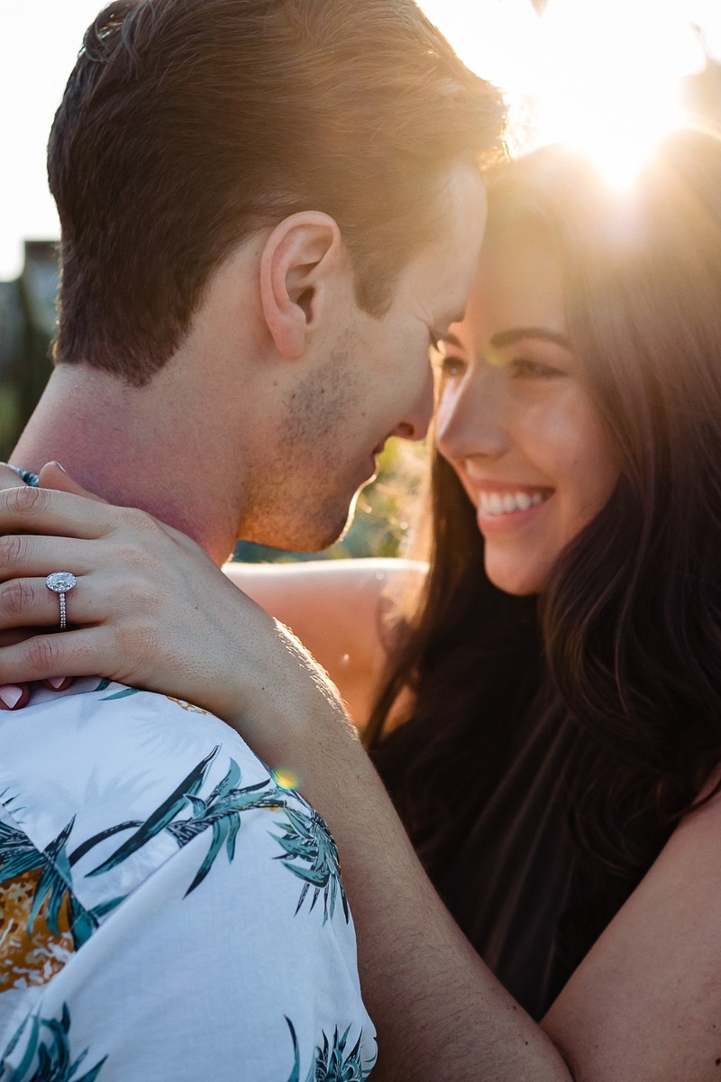 romantic engagement photos | ©Fabi Rosas Photography, Cabo, Mexico